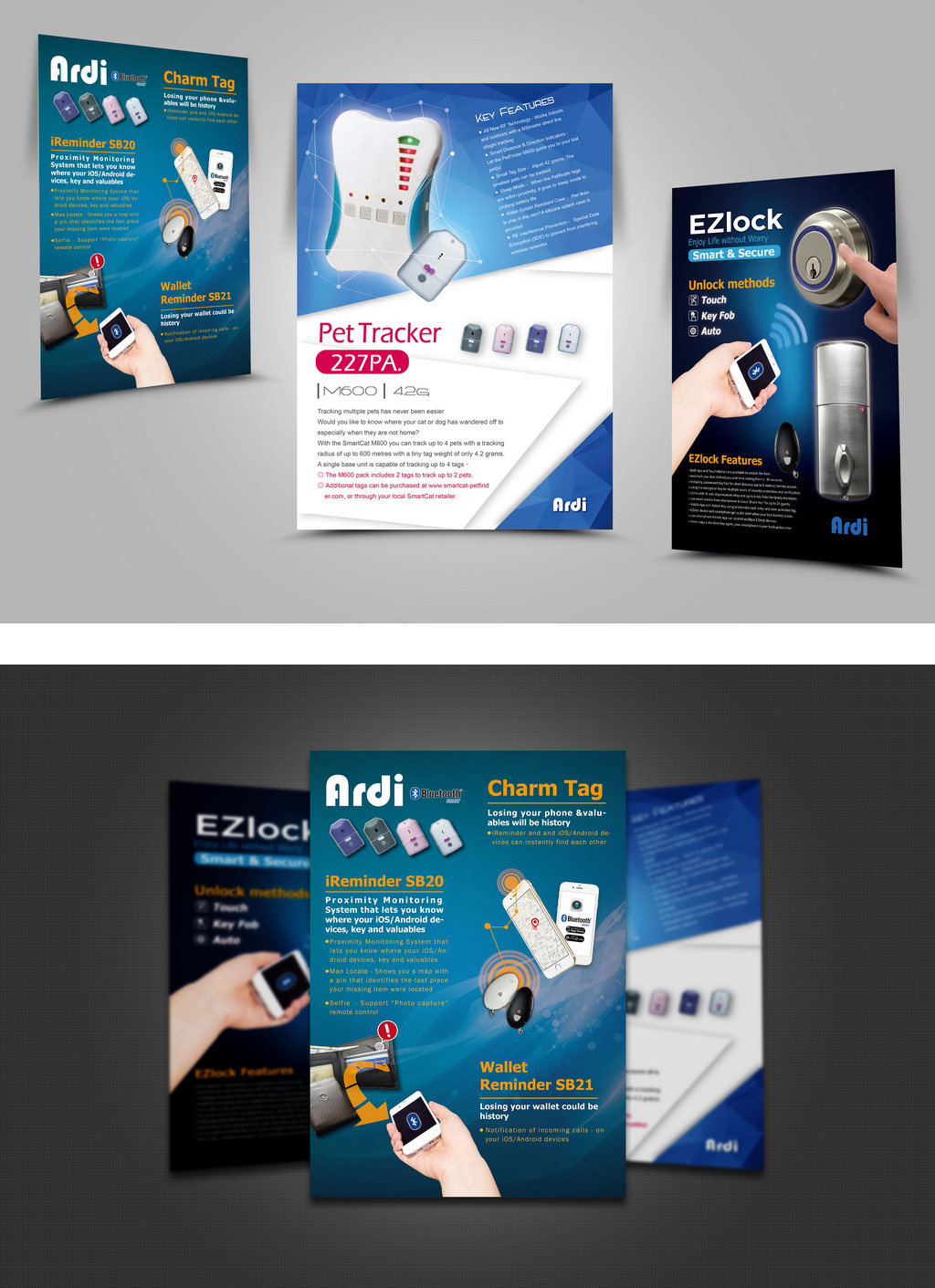 ARDI雅帝科技,展覽用海報設計
