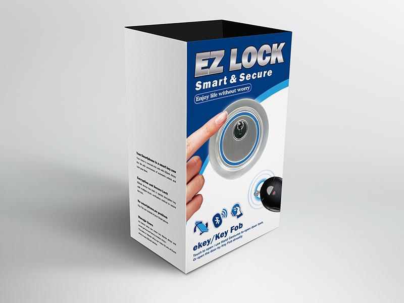 ARDI雅帝科技,EZ LOCK電子鎖包裝設計