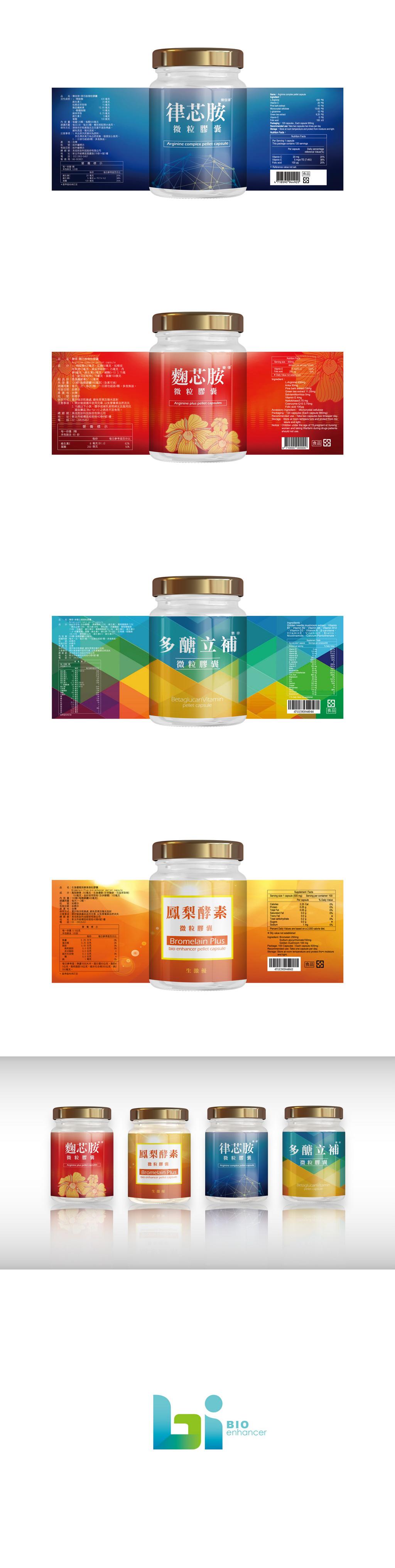 美佳胜肽科技-罐裝貼設計