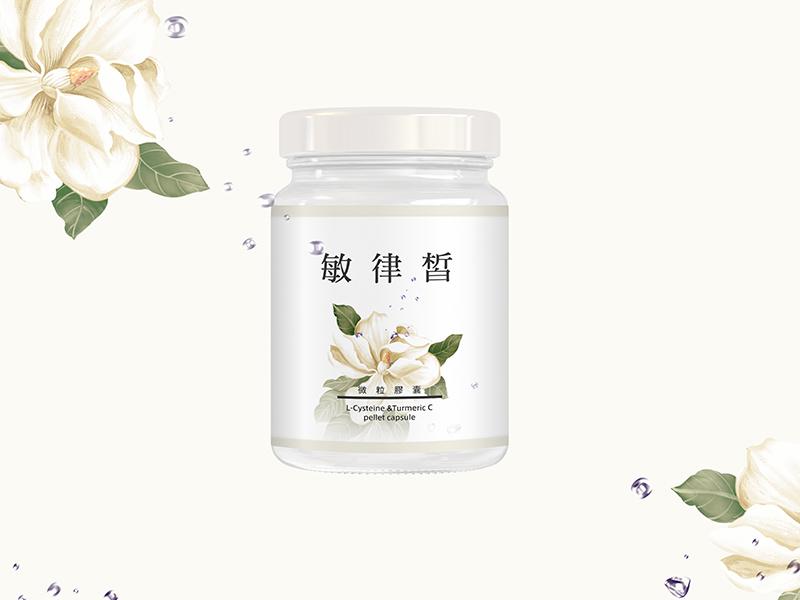 美佳胜肽-敏律皙微粒膠囊包裝設計