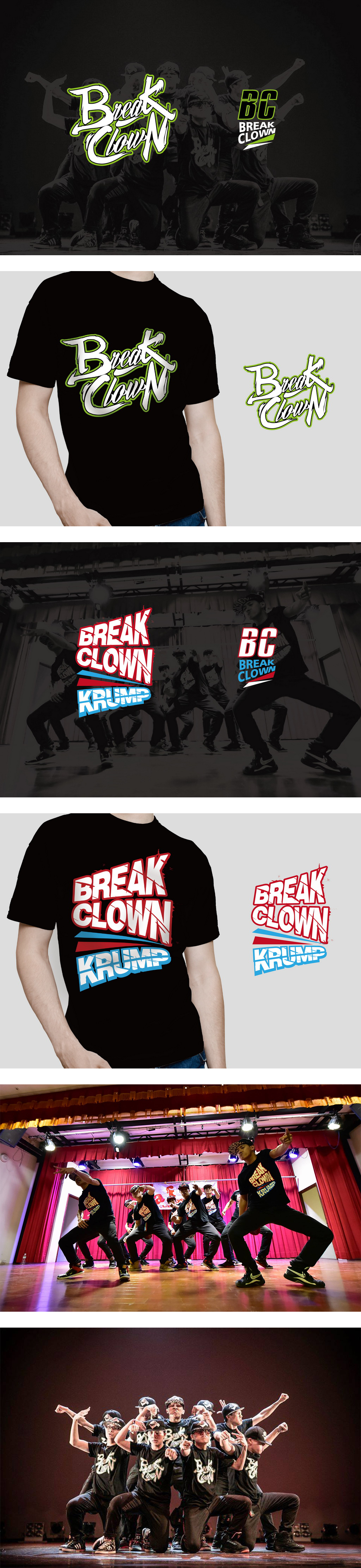 BREAK-CLOWN-台大盃比賽T-SHIRT