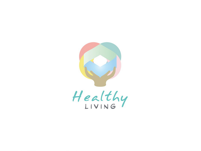 healthy living  LOGO設計